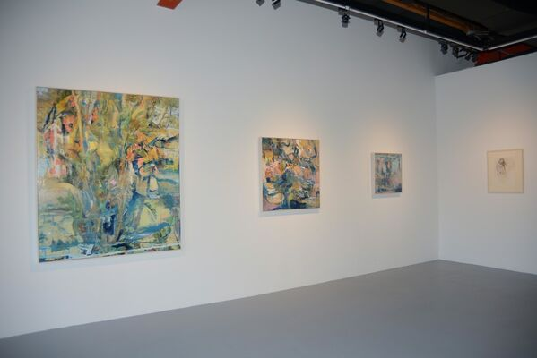 Kent Williams - How Human of You, installation view