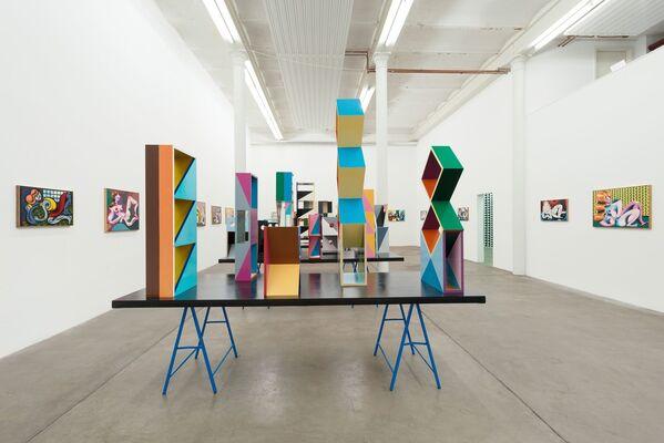 Christoph Ruckhäberle - Malerei/Grafik, installation view