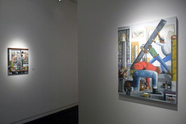 Alexander Rohrig, installation view