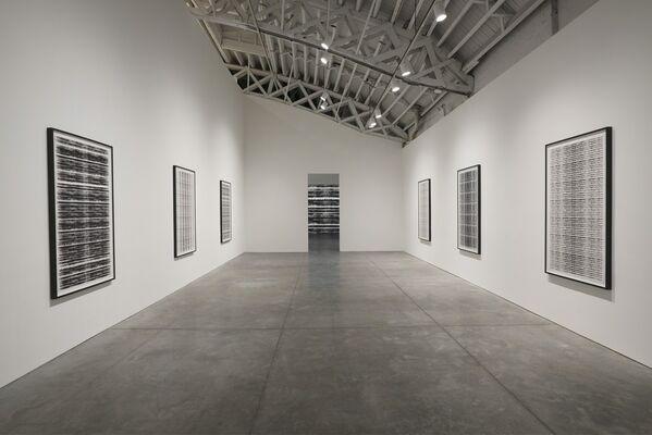 Michal Rovner: Evolution, installation view