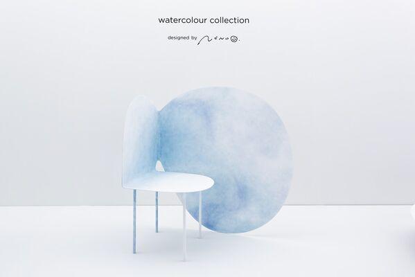 nendo: Watercolour Collection, installation view