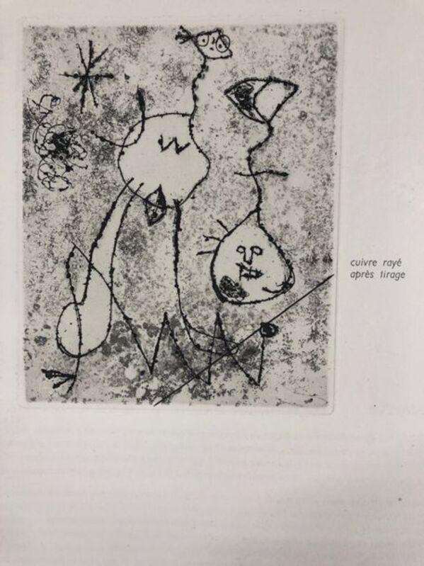 Joan Miró, 'Derrière le Miroir : 10 ans d'édition', 1956, Print, Original etching on wove paper, Samhart Gallery