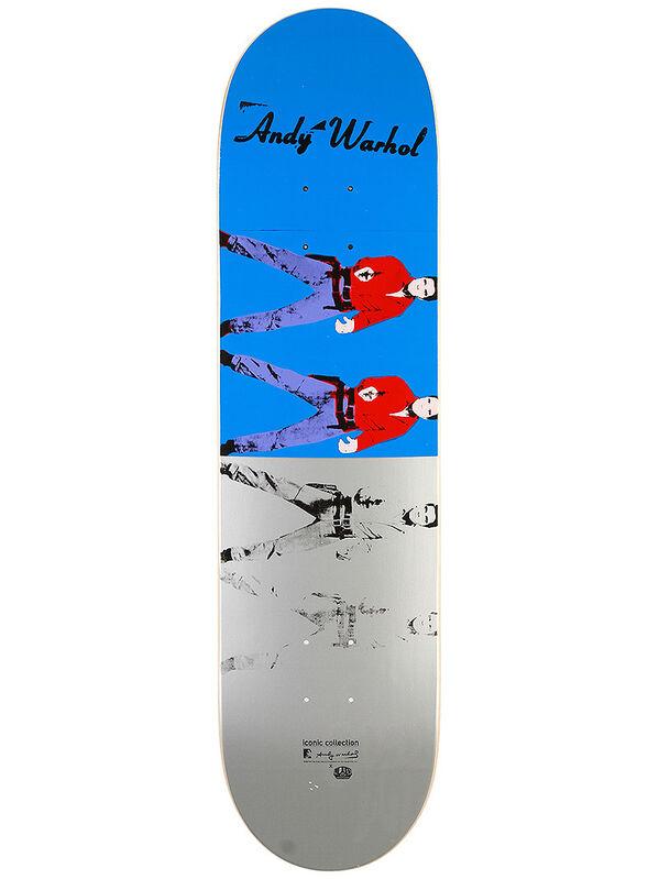 Andy Warhol, 'Elvis I & II skateboard', ca. 2011, Print, Screenprint on skateboard deck, EHC Fine Art