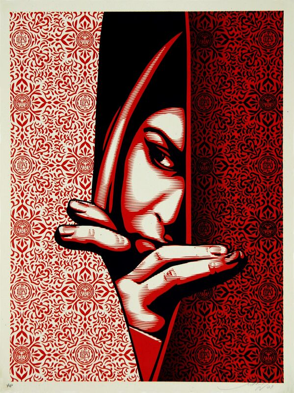 Shepard Fairey, 'Israel / Palestine', 2009, Print, Limited edition serigraph on paper, Addicted Art Gallery