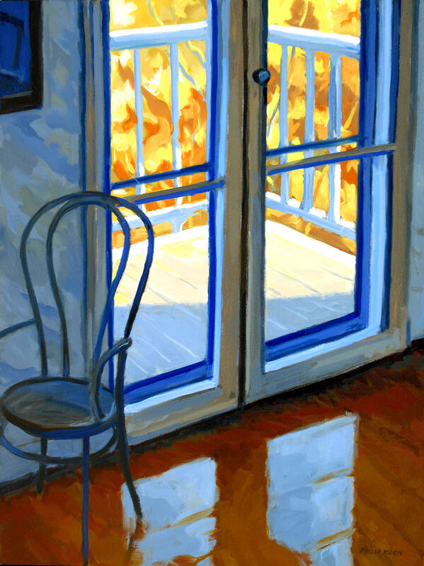 Philip Koch, 'Edward Hopper's Parlor, Nyack', 2020, Painting, Oil on canvas, Somerville Manning Gallery