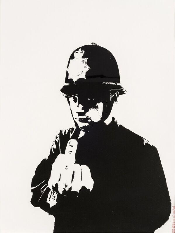 Banksy, 'Rude Copper', 2002, Print, Screenprint in black, Forum Auctions