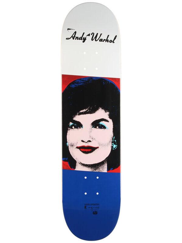 Andy Warhol, 'Jackie Kennedy skateboard', 2011, Print, Screenprint on skateboard deck, EHC Fine Art