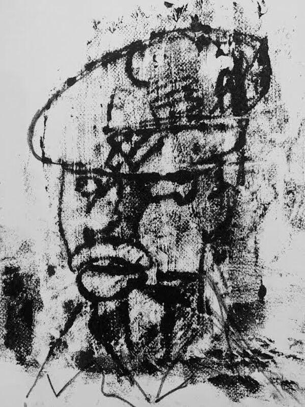 Devin B. Johnson, 'Untitled Study', 2020, Painting, Oil Monoprint on paper, ARTNOIR Benefit Auction