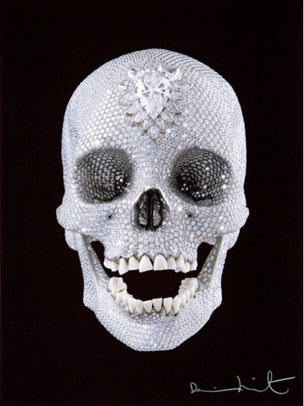 Damien Hirst, 'For The Love of God', 2007, Print, Silkscreen with glaze., The Drang Gallery