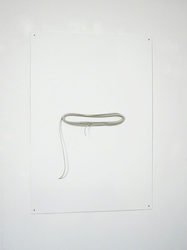 Rolf Nowotny, 'Demon Lover', 2013, Mixed Media, Powdercoated aluminum and electrical wire, Christian Andersen