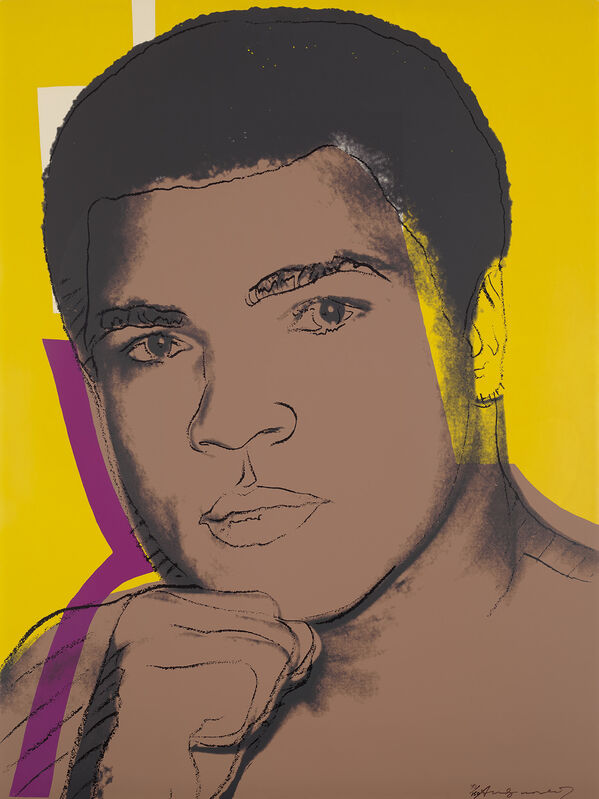 Andy Warhol, 'Muhammad Ali', 1978, Print, Screenprint in colours, on Strathmore Bristol paper, the full sheet., Phillips