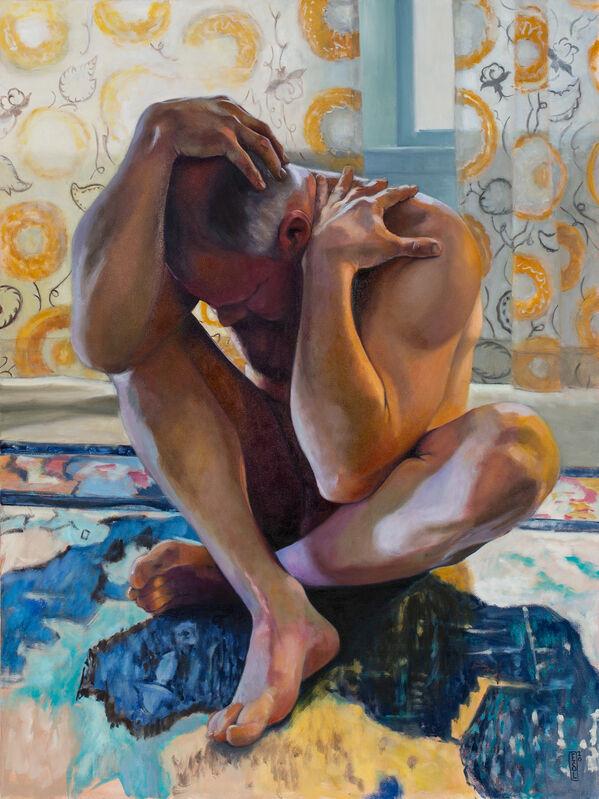 Ellen Starr Lyon, 'Vulnerability of Man II', 2020, Painting, Oil on canvas, 33 Contemporary