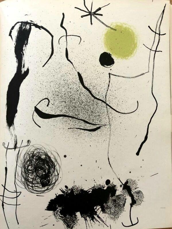 Joan Miró, 'Bouquet de rêves pour Leïla', 1964, Print, Original lithograph on wove paper, Samhart Gallery