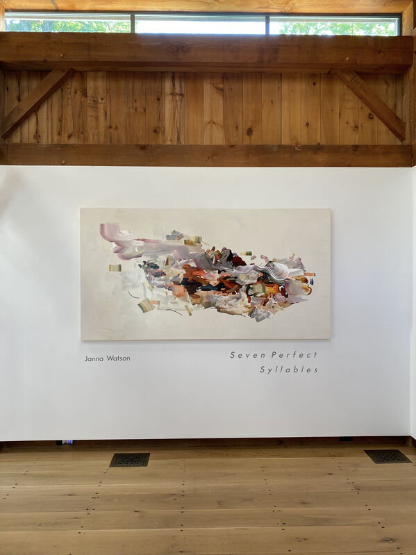 Janna Watson, 'A Swift Hike Through the Red Earth', 2021, Painting, Acrylic, gouache, oil pastel, ink on Baltic birch panel, Kenise Barnes Fine Art