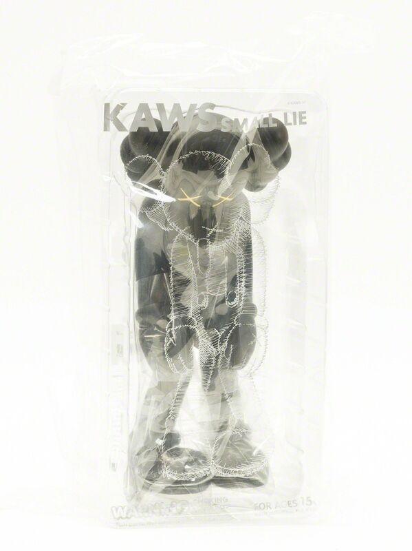 KAWS, 'Small Lie (Black)', 2017, Sculpture, The painted cast vinyl multiple, Forum Auctions