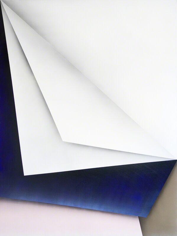 Ira Svobodová, 'Papercut 28', 2015, Painting, Acrylic on linen, River