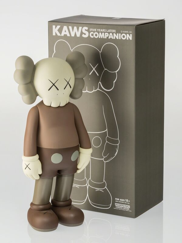 KAWS, 'Companion (Five Years Later) (Brown)', 2004, Other, Painted cast vinyl, Heritage Auctions