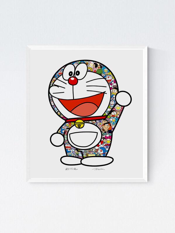 Takashi Murakami, 'Doraemon: Thank you', 2020, Print, Silkscreen, Viacanvas