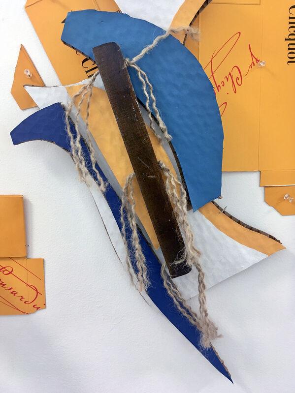 Elisabeth Jacobsen, 'Jazz', 20201, Sculpture, Cardboard, honeycomb, & paint, Carter Burden Gallery