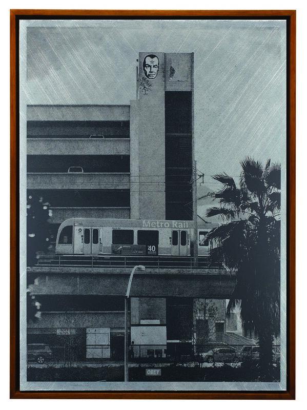 Shepard Fairey, 'Covert to Overt: Big Brother', 2015, Mixed Media, Screen print on metal (aluminium), Underdogs Gallery