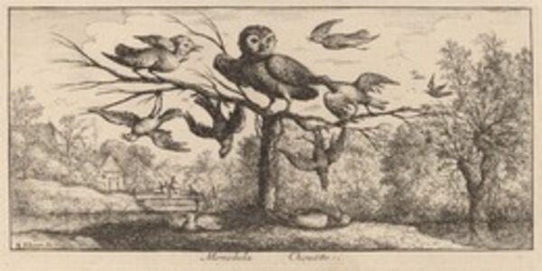 Albert Flamen, 'Monedula, The Owl'