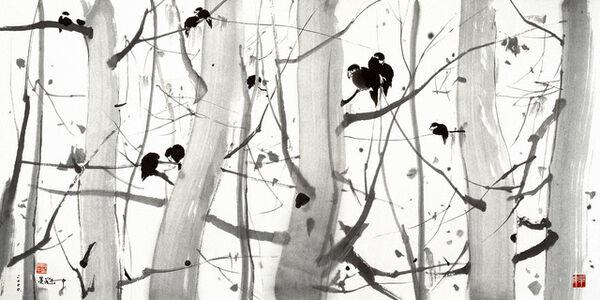 Wu Guanzhong, 'No Wind', 2000-2005