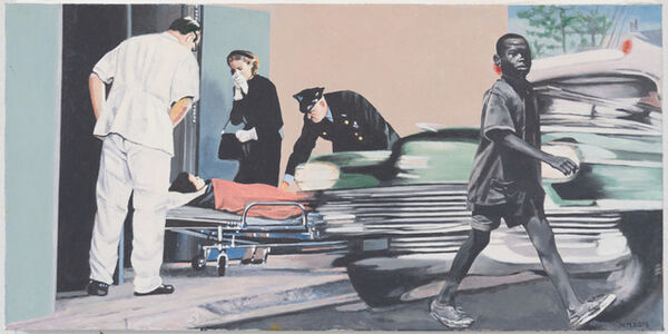 Martin Mull, 'City Scene', 2016