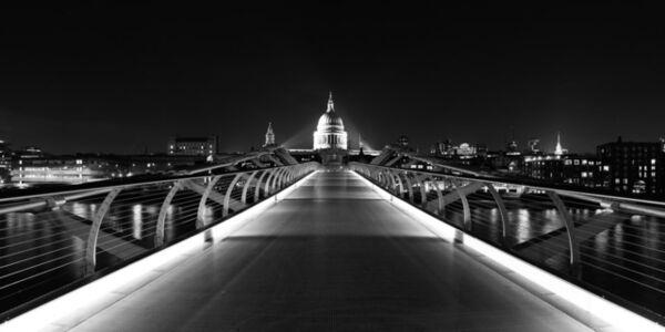 Chris Hauser, 'Path of Light, Millenium Bridge, London', 2012