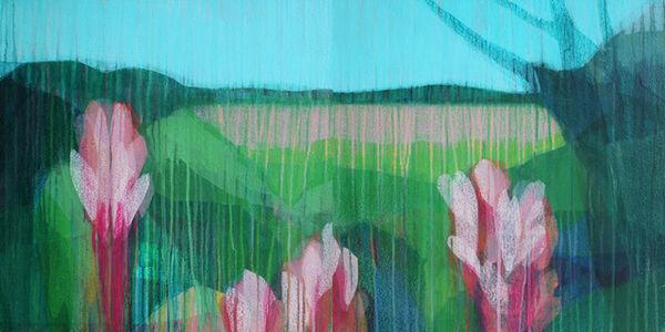 Katherine Sandoz, '(Jubilee) Canyon Top No. 2 Diptych', 2019