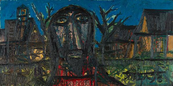 Francis Newton Souza, 'Christ in a Village', 1958