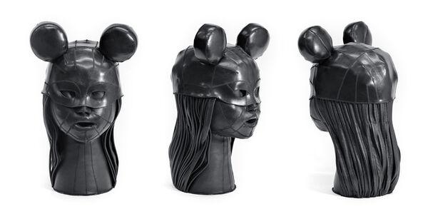 Aneta Grzeszykowska, 'Skin Head #3', 2016-2017