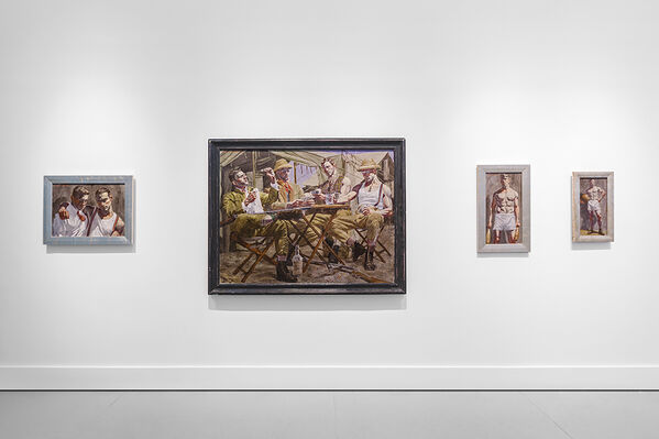 Mark Beard | Bruce Sargeant (1898-1938): Parlor, Gymnasium, and Field, installation view