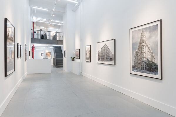 Marc Yankus | The Secret Lives of Buildings, installation view