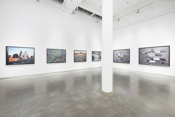 Edward Burtynsky: Essential Elements, installation view