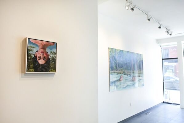 Summer of the Wild Wallflower - Solo Show of Jana Brike, installation view