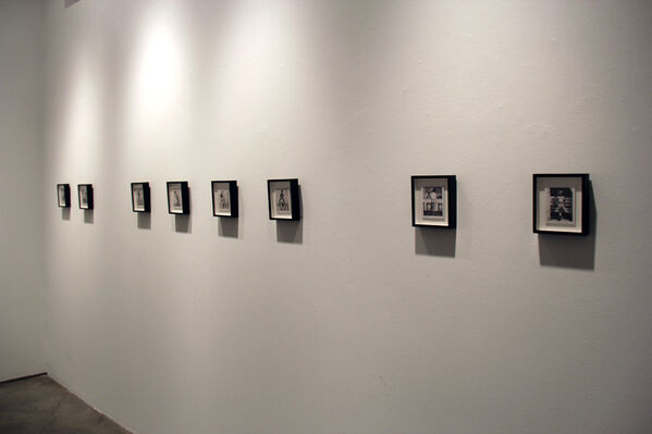Tinker, Tailor, Soldier, Sailor: Jim French Polaroids, installation view