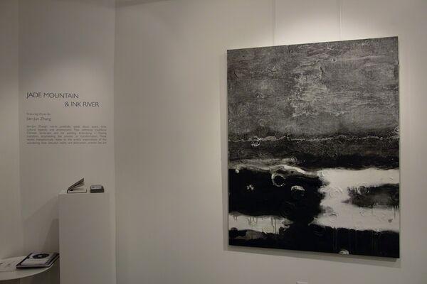 Jian-Jun Zhang: Jade Mountain & Ink River, installation view