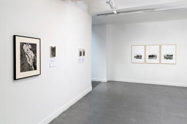 Some Dimensions of my Lunch: Conceptual Art in Britain. Part 4: Ed Herring & Roger Palmer, installation view
