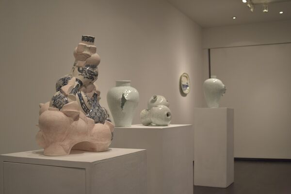 Porcelainia: East Meets West, installation view