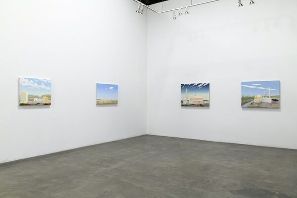 "Ron Rizk ""Of Time and Structure"", installation view"