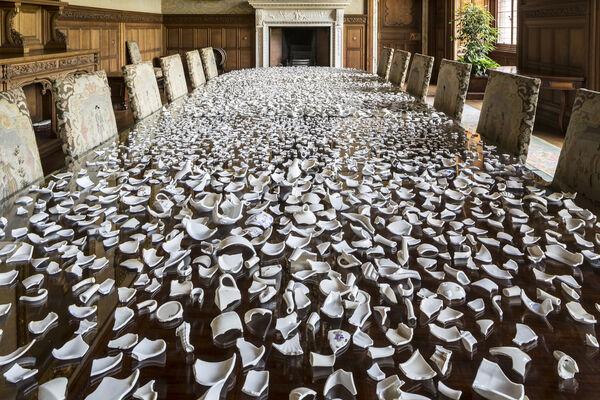 Christine Borland, to The Power of Twelve, installation view