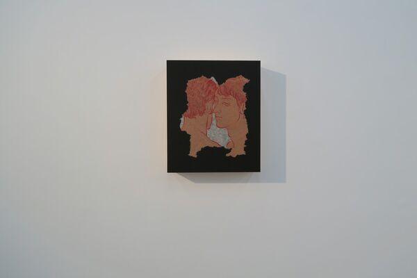 紙間 - Whispering Void, installation view