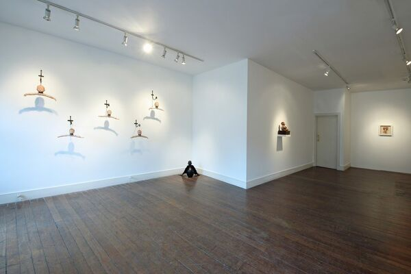 Curious Room, installation view