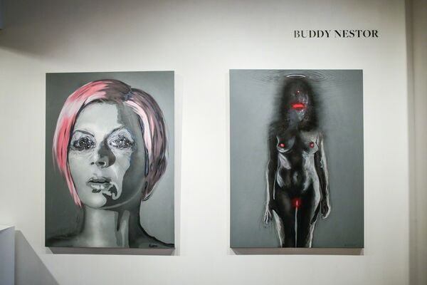 Portrait, installation view