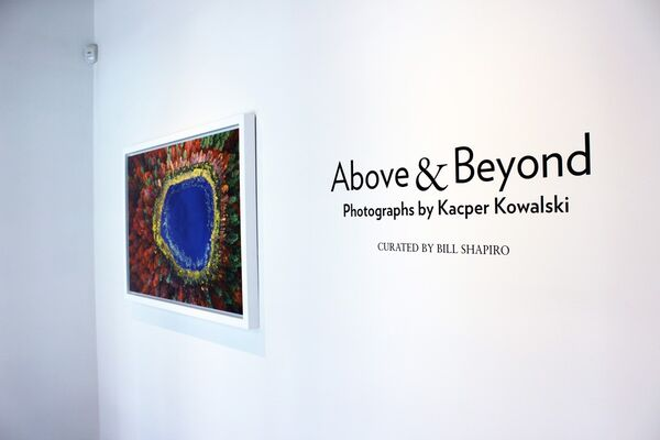 Above & Beyond: Photographs by Kacper Kowalski, installation view