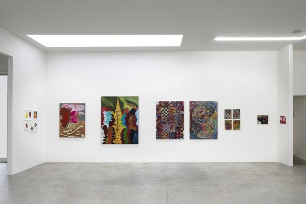 Peanuts, installation view