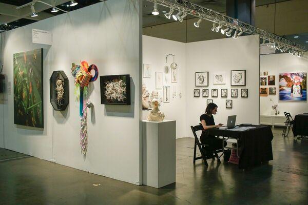 Paradigm Gallery + Studio at LA Art Show 2017, installation view