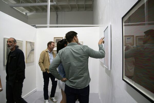 Inauguration, installation view