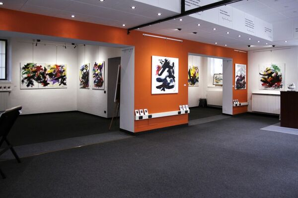 Gestural Abstract Expressionism, installation view