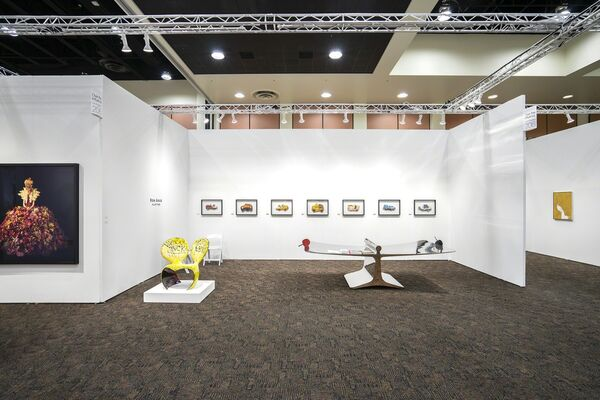 Over the Influence at Art Palm Springs 2019, installation view